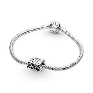 Приврзок сребрен Star Wars 3Д лого
