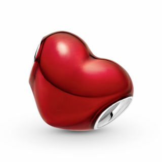 Привзок Црвено металик срце