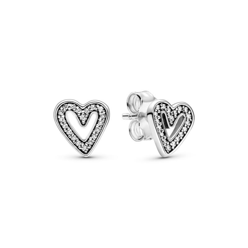Обетки Светкаво срце нацртано со рака