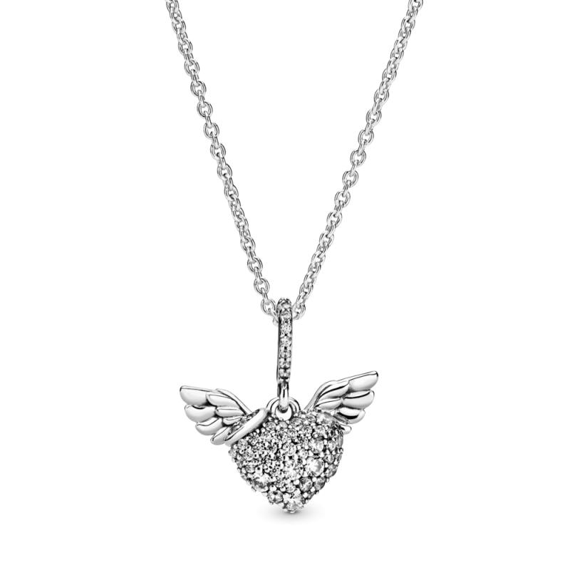 Ѓердан Pave Срце со Ангелски Крилја