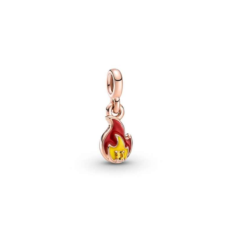 Висечки мини приврзок Pandora ME, Разгорен оган