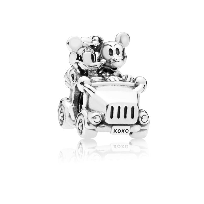 Disney приврзок, Мики и Мини во винтиџ автомобил