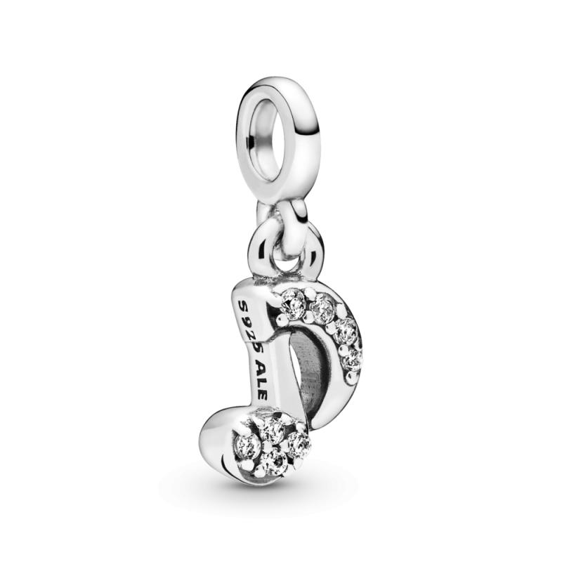 Висечки Pandora Me приврзок Мој блескав дијамант