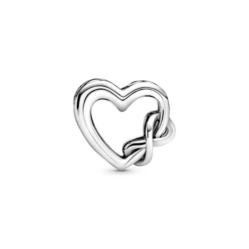 Приврзок Те сакам Мамо Срце со симболот на Бесконечност