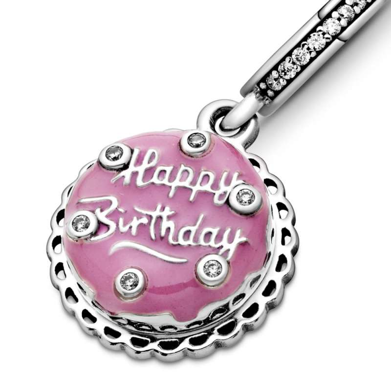 Висечки приврзок Розева роденденска торта