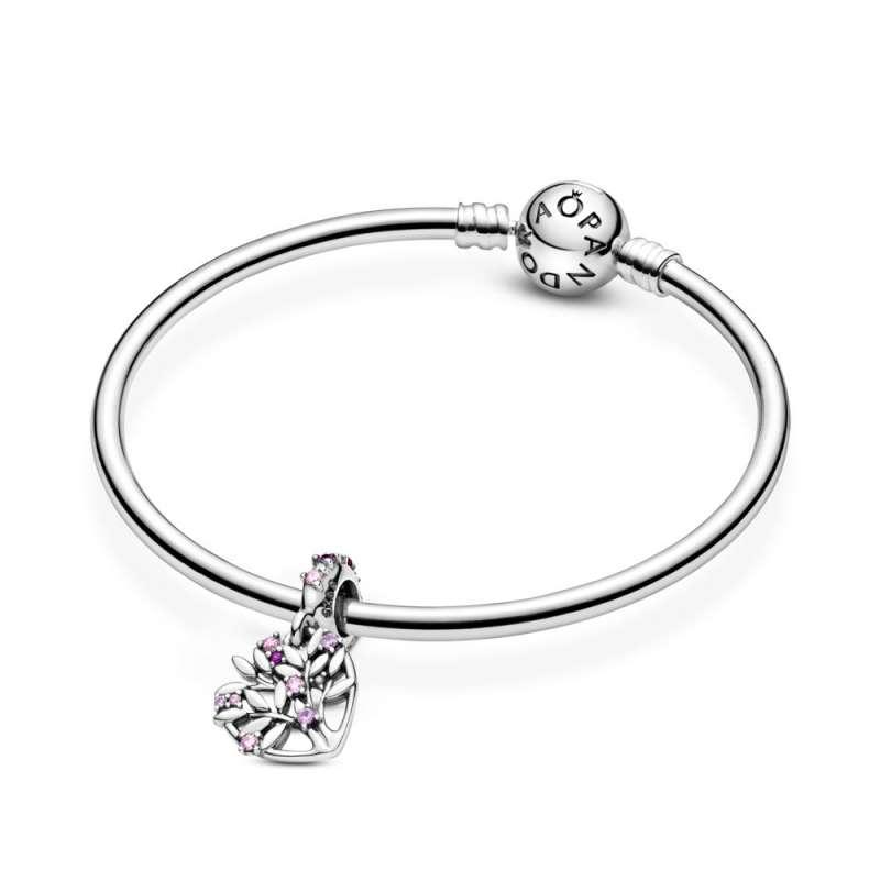 Висечки приврзок Розево семејно дрво во срце
