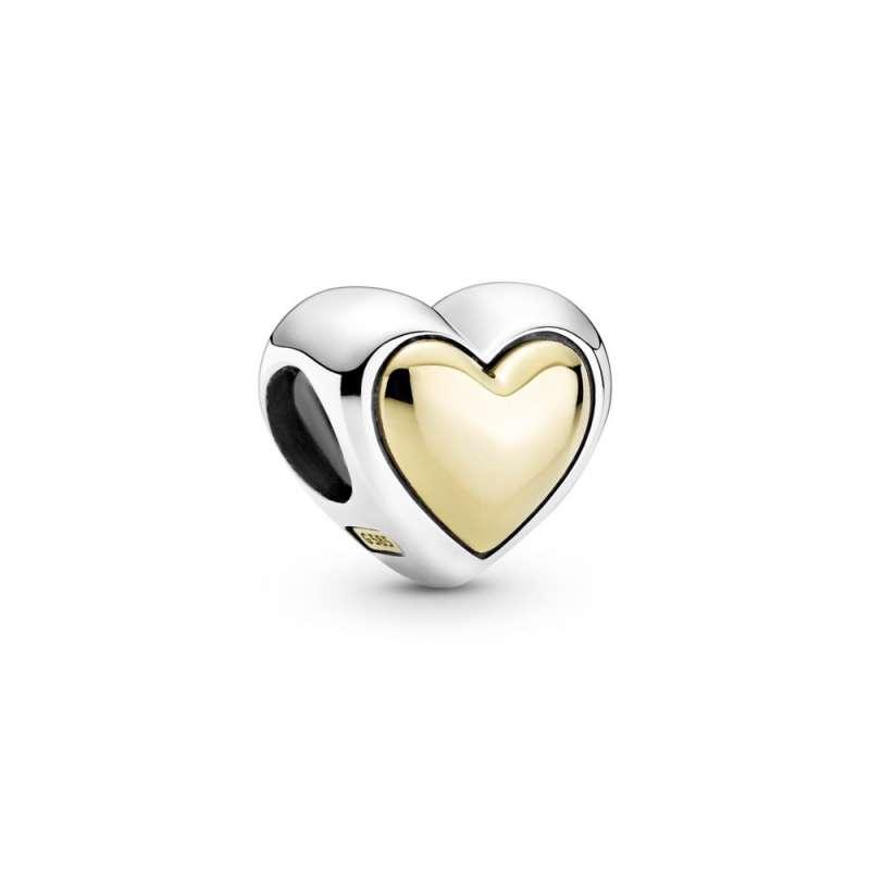 Приврзок Заоблено златно срце