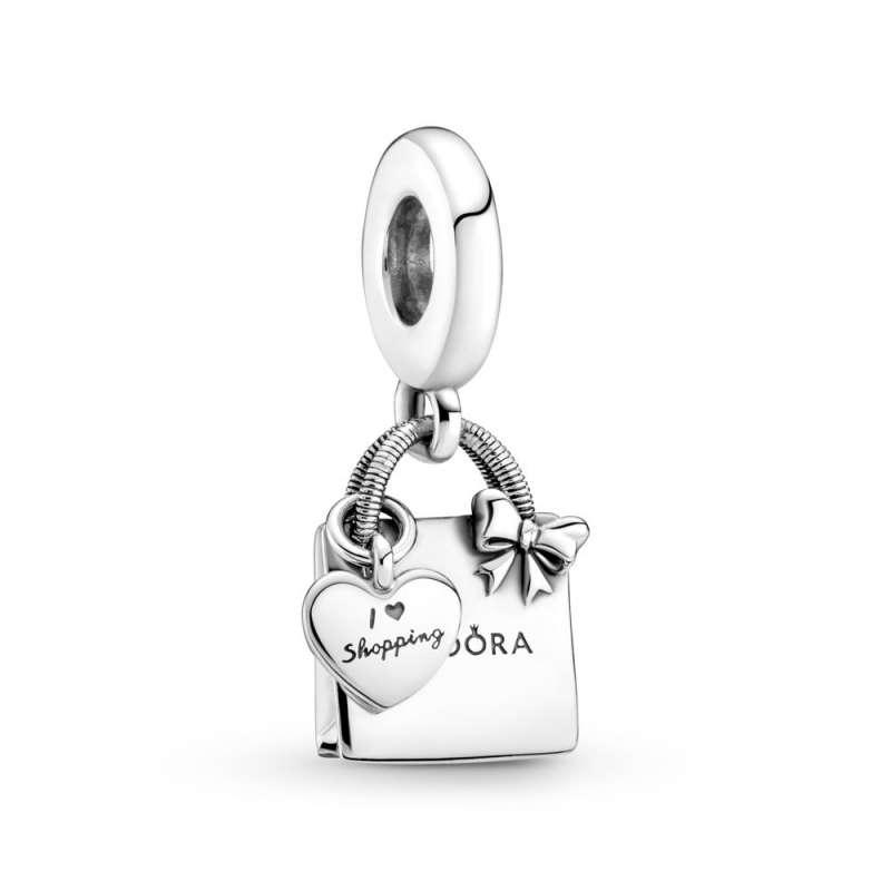 Висечки приврзок Pandora торбичка за пазарење